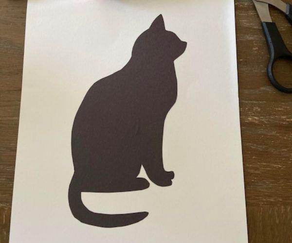 Craft Pet Silhouette Portraits