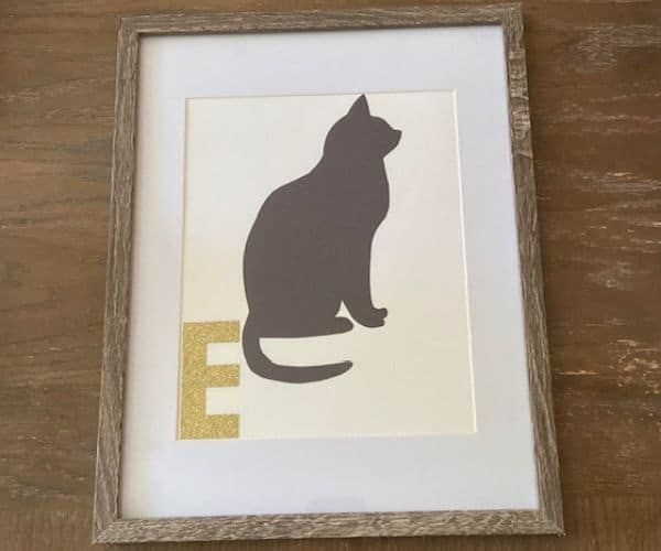 Pet Silhouette Portraits
