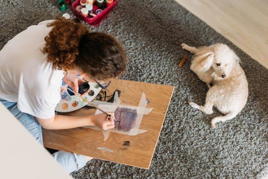 DIY Craft: Pet Silhouette Portraits